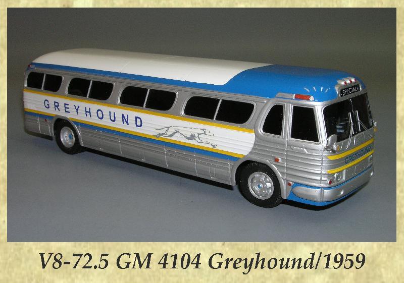V8-72.5 GM 4104 Greyhound 1959
