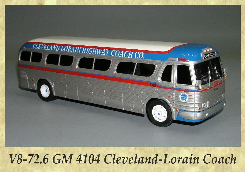 V8-72.6 GM 4104 Cleveland-Lorain Coach