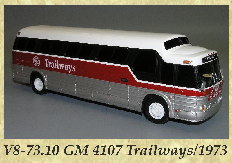 V8-73.10 GM 4107 Trailways 1973