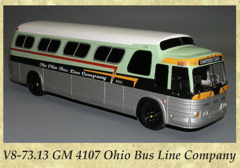 V8-73.13 GM 4107 Ohio Bus Line Company
