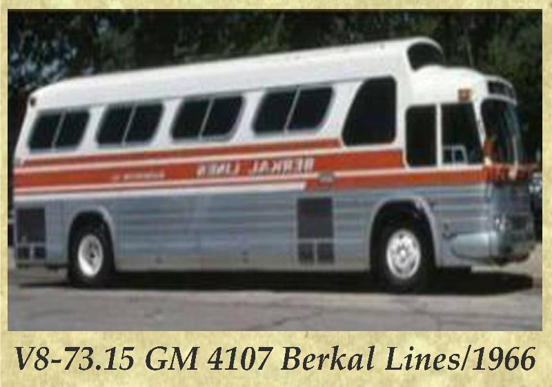 V8-73.15 GM 4107 Berkal Lines 1966