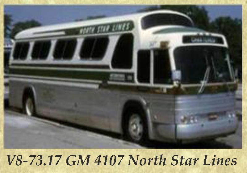 V8-73.17 GM 4107 North Star Lines