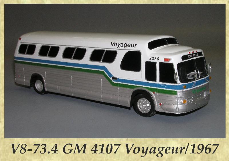 V8-73.4 GM 4107 Voyageur 1967