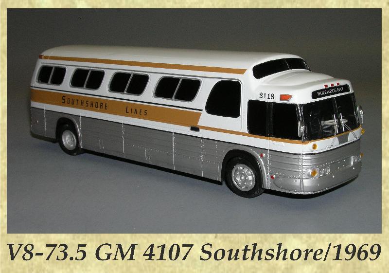 V8-73.5 GM 4107 Southshore 1969