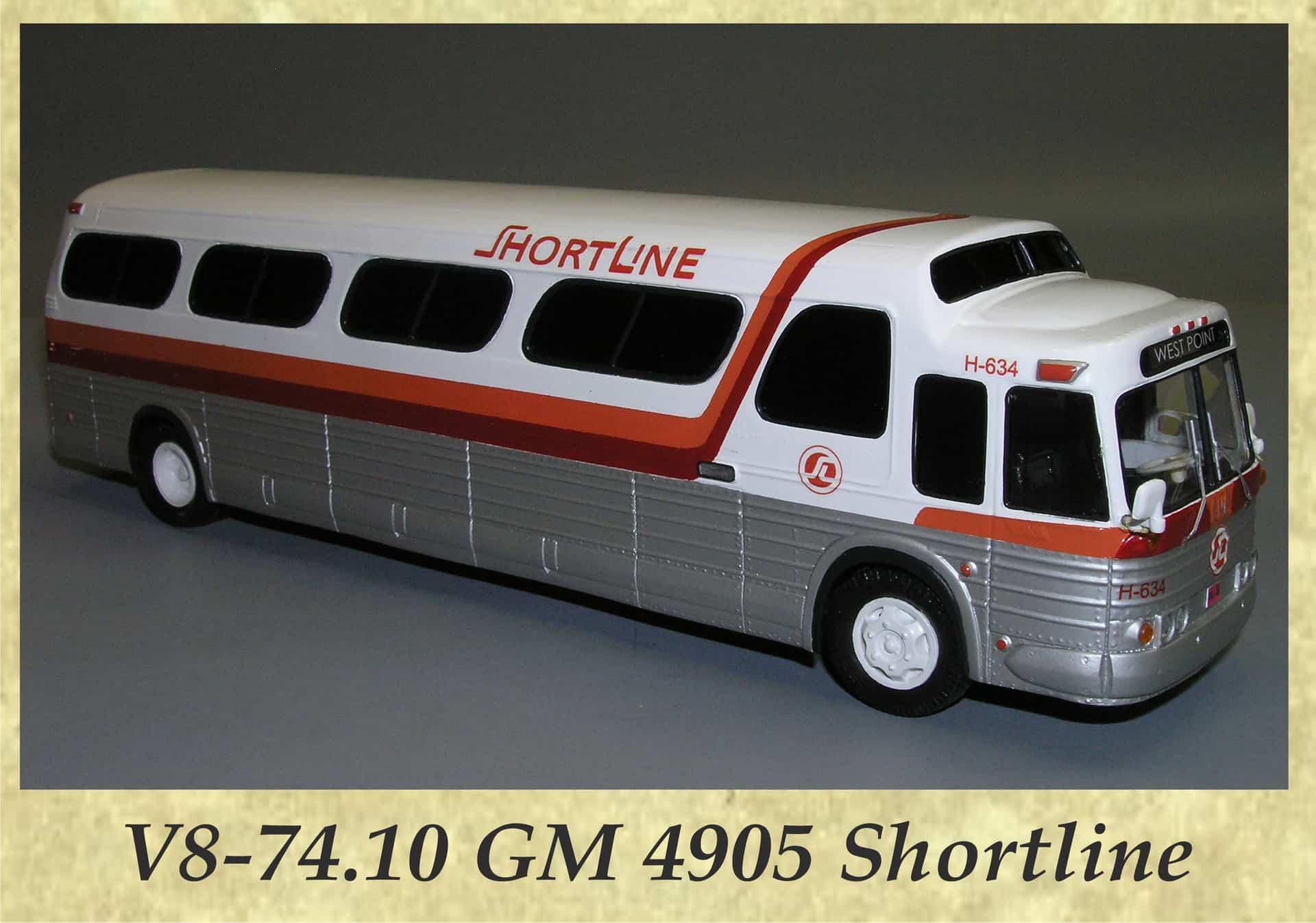 V8-74.10 GM 4905 Shortline