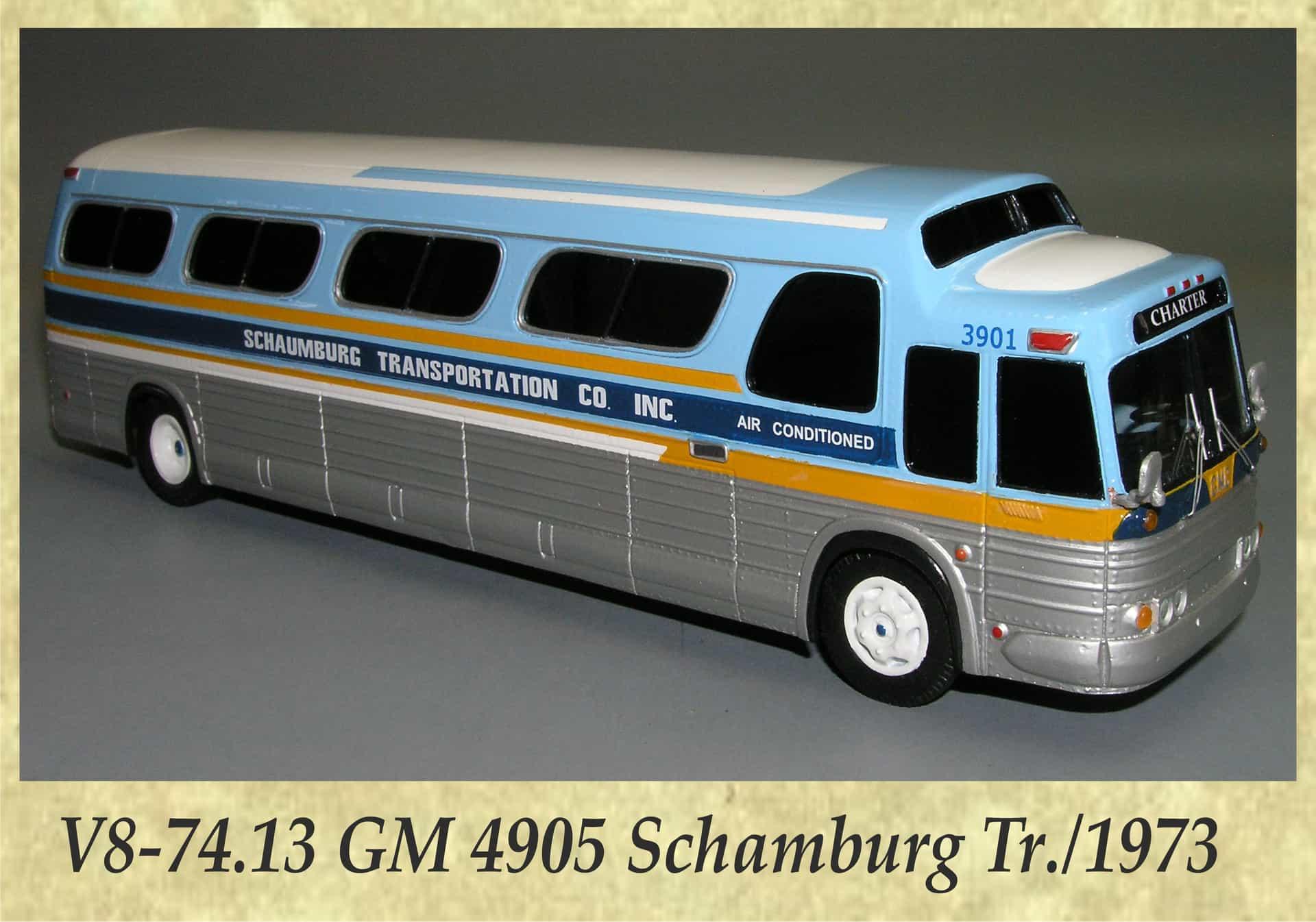 V8-74.13 GM 4905 Schamburg Tr.1973
