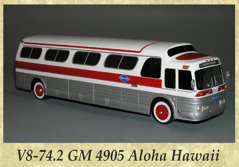 V8-74.2 GM 4905 Aloha Hawaii