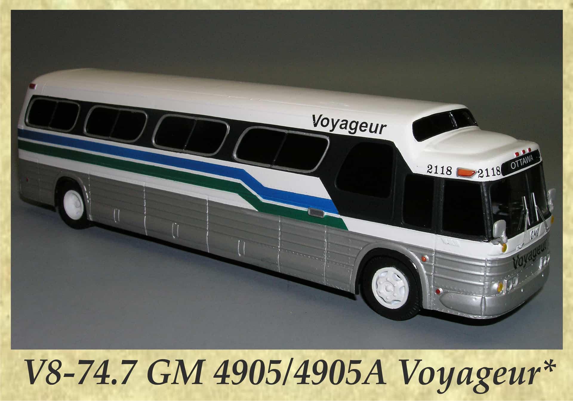 V8-74.7 GM 4905 4905A Voyageur