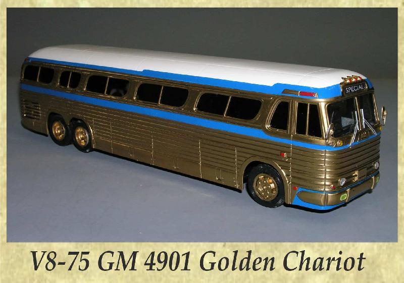 V8-75 GM 4901 Golden Chariot