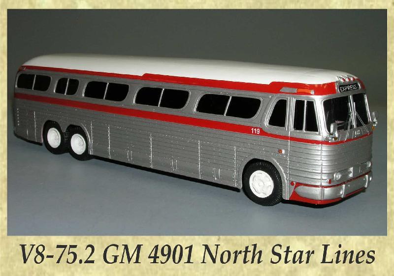 V8-75.2 GM 4901 North Star Lines