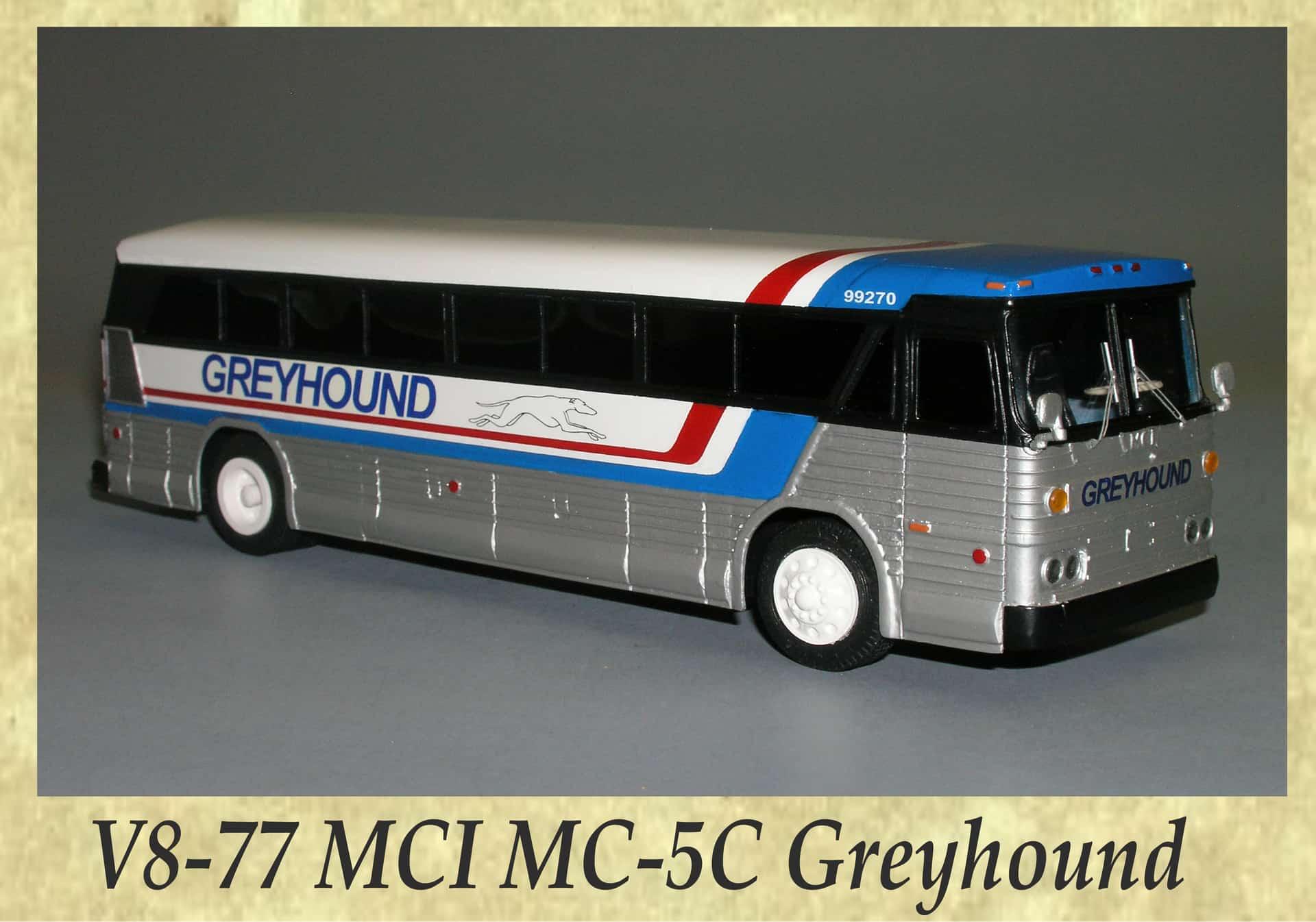 V8-77 MCI MC-5C Greyhound