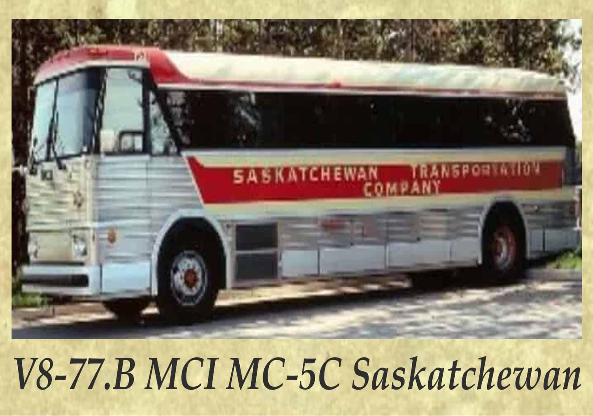 V8-77.B MCI MC-5C Saskatchewan
