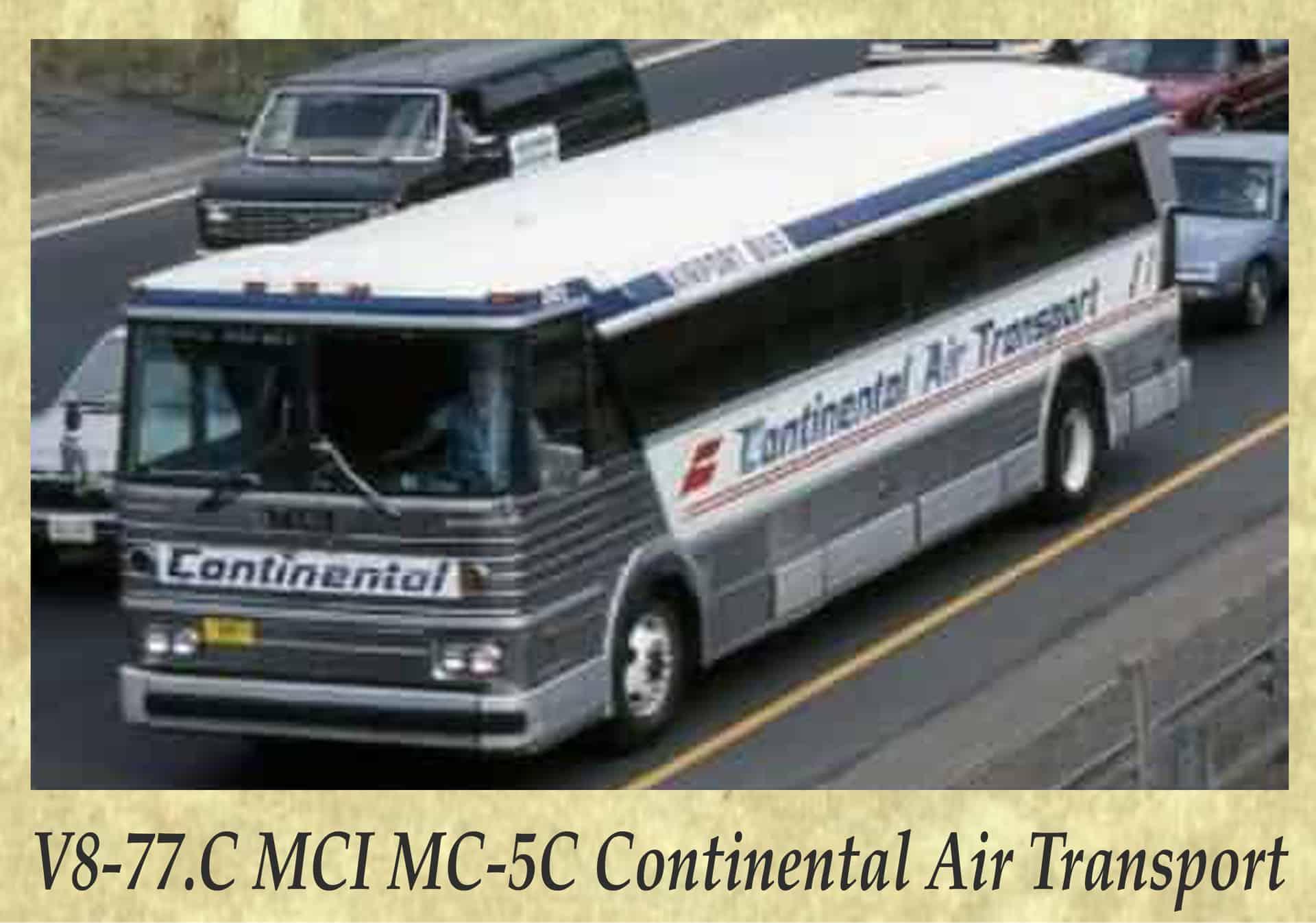 V8-77.C MCI MC-5C Continental Air Transport