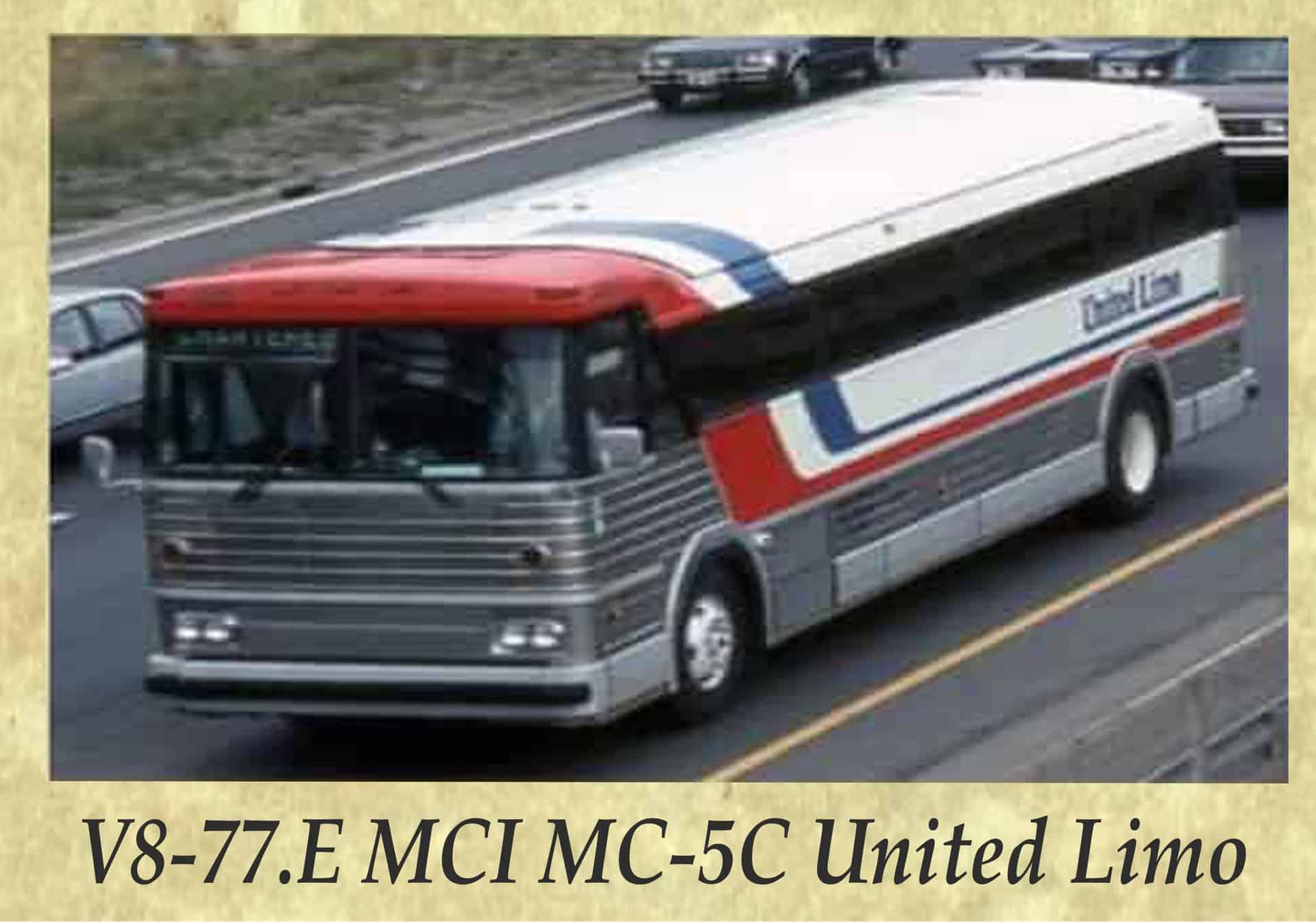 V8-77.E MCI MC-5C United Limo