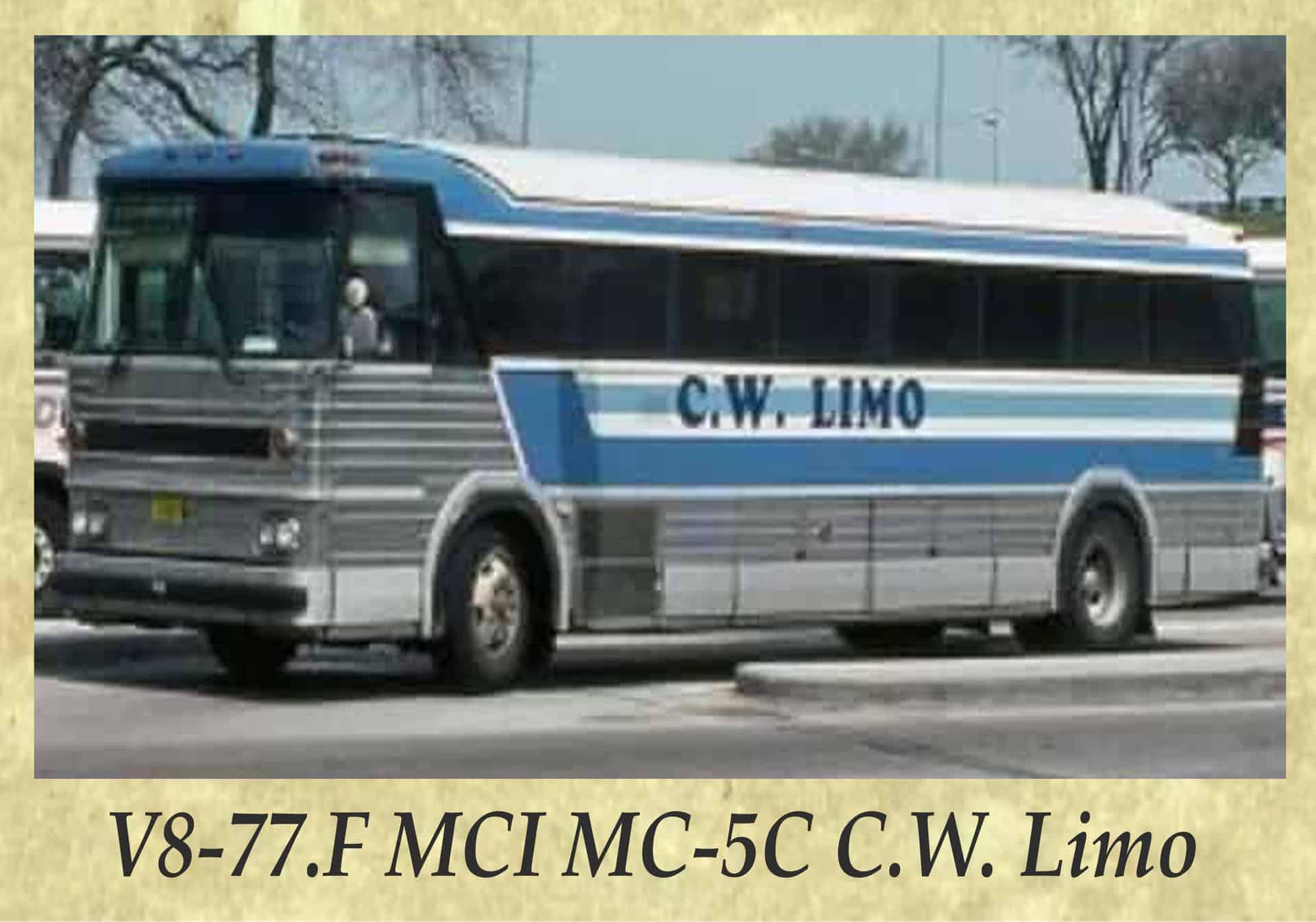 V8-77.F MCI MC-5C C.W. Limo