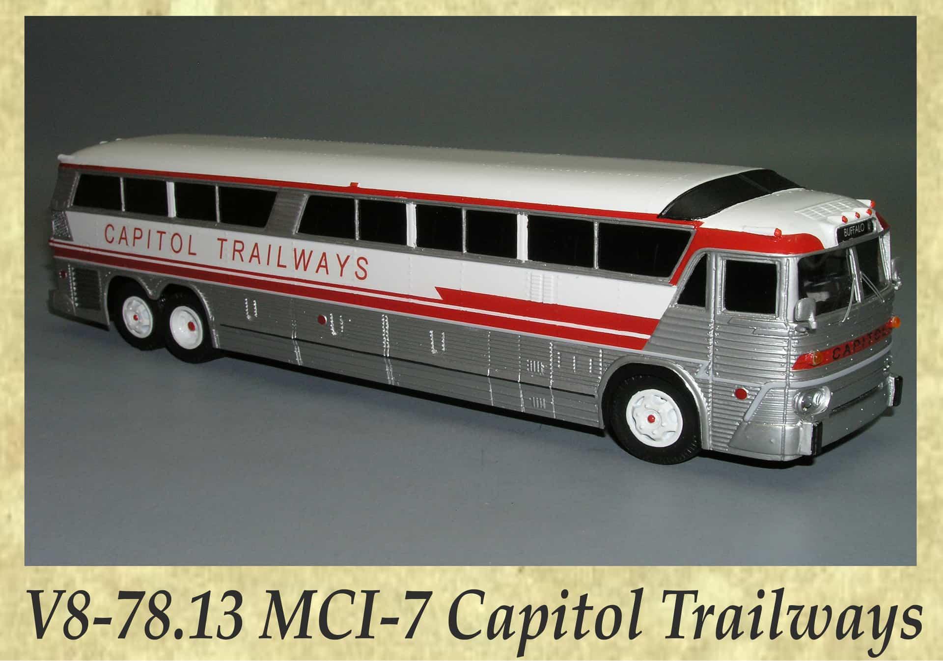 V8-78.13 MCI-7 Capitol Trailways