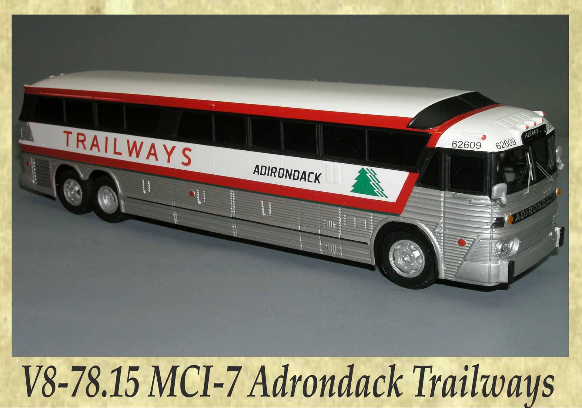 V8-78.15 MCI-7 Adrondack Trailways