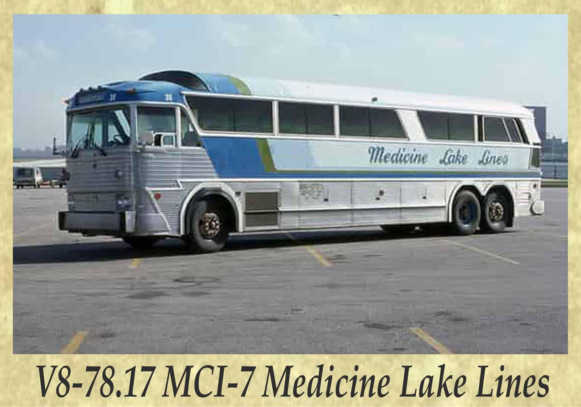 V8-78.17 MCI-7 Medicine Lake Lines