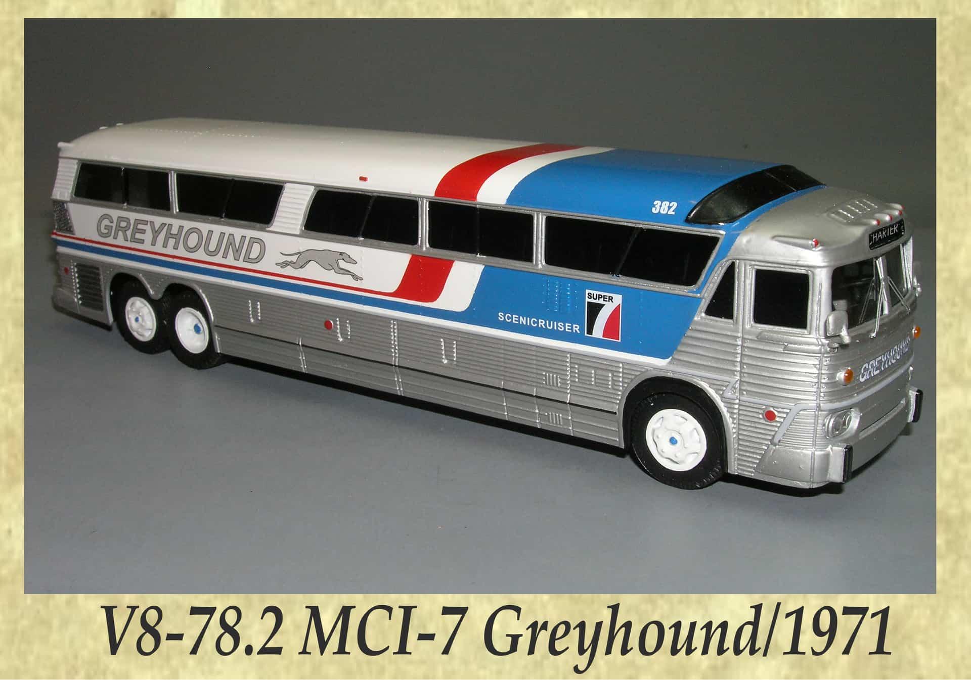 V8-78.2 MCI-7 Greyhound 1971
