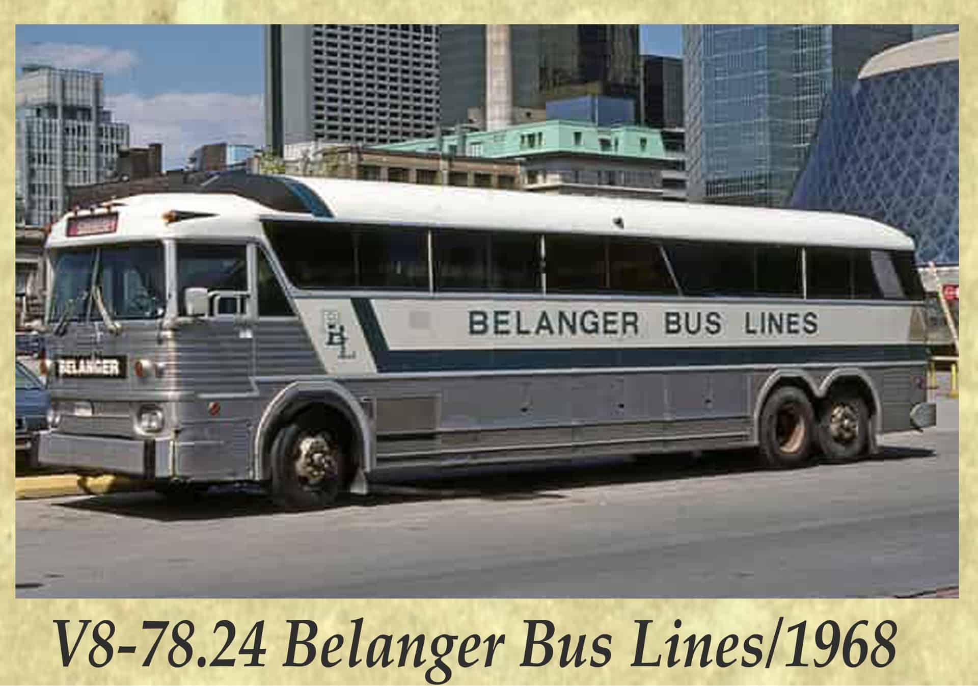 V8-78.24 Belanger Bus Lines 1968