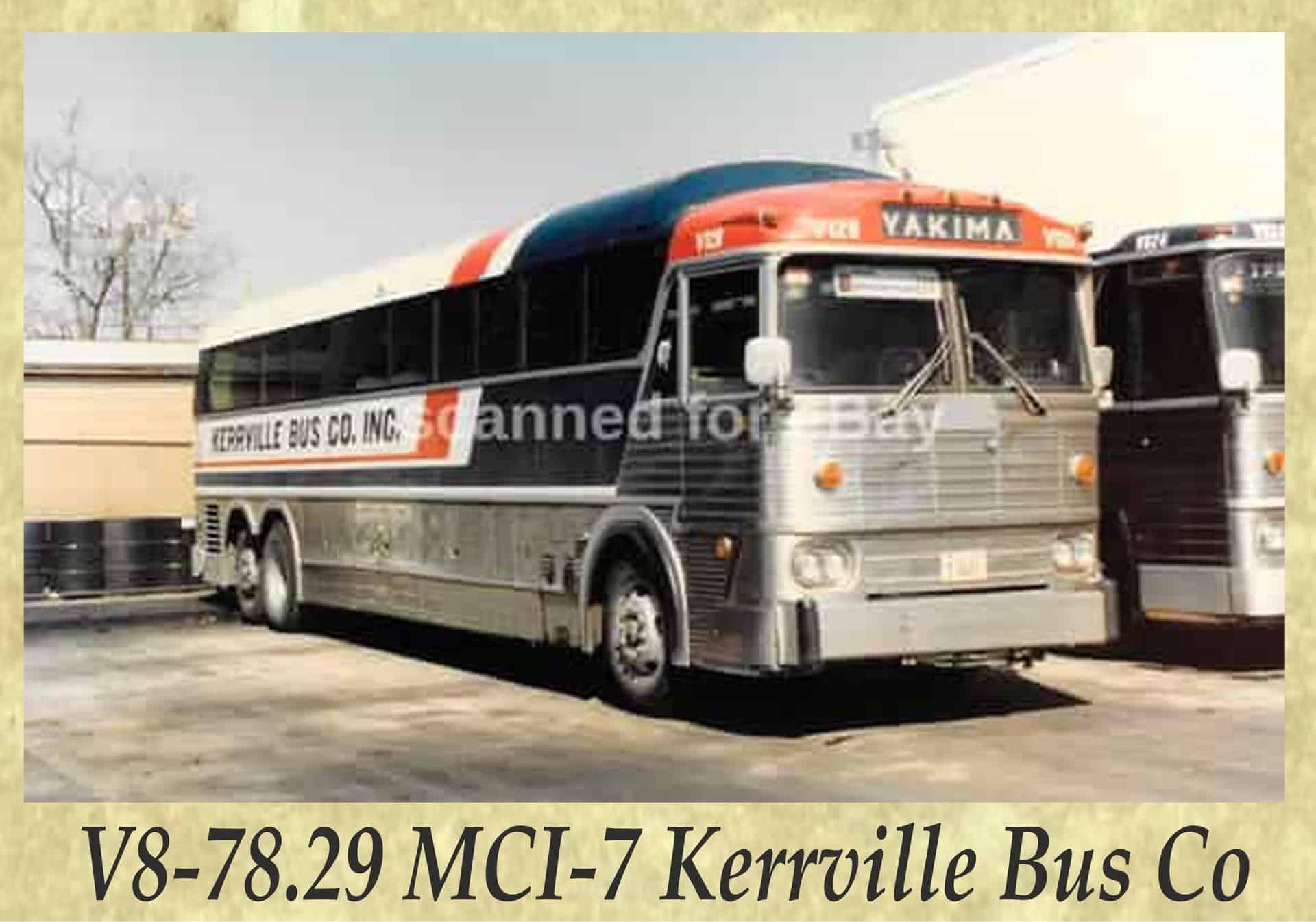 V8-78.29 MCI-7 Kerrville Bus Co
