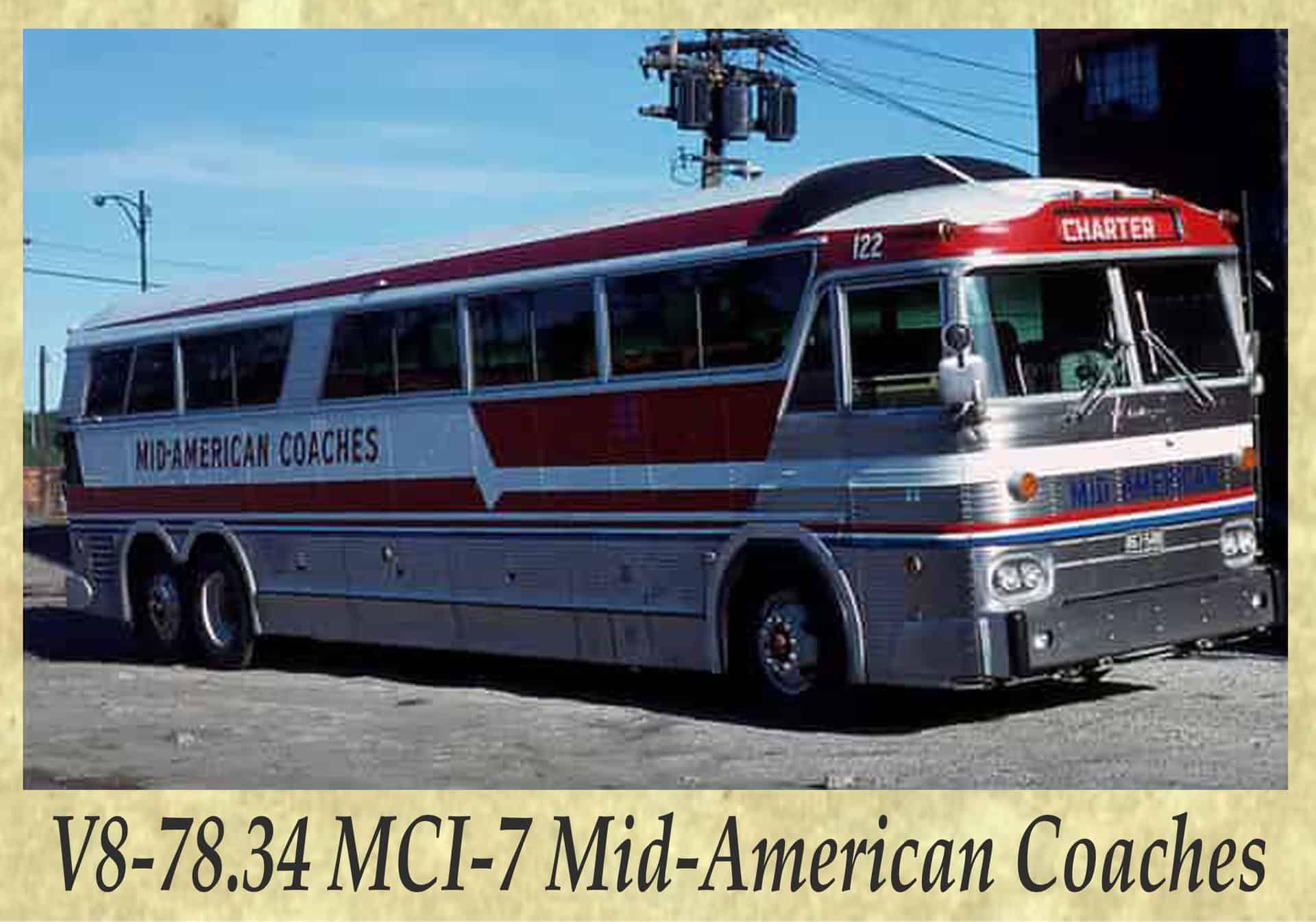 V8-78.34 MCI-7 Mid-American Coaches
