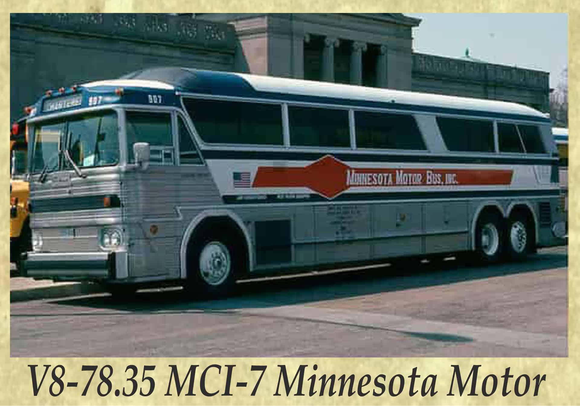 V8-78.35 MCI-7 Minnesota Motor