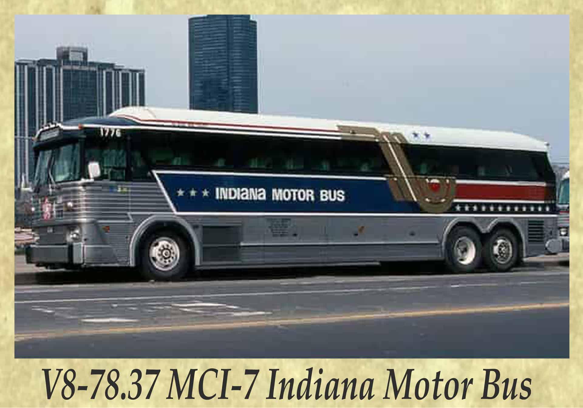 V8-78.37 MCI-7 Indiana Motor Bus