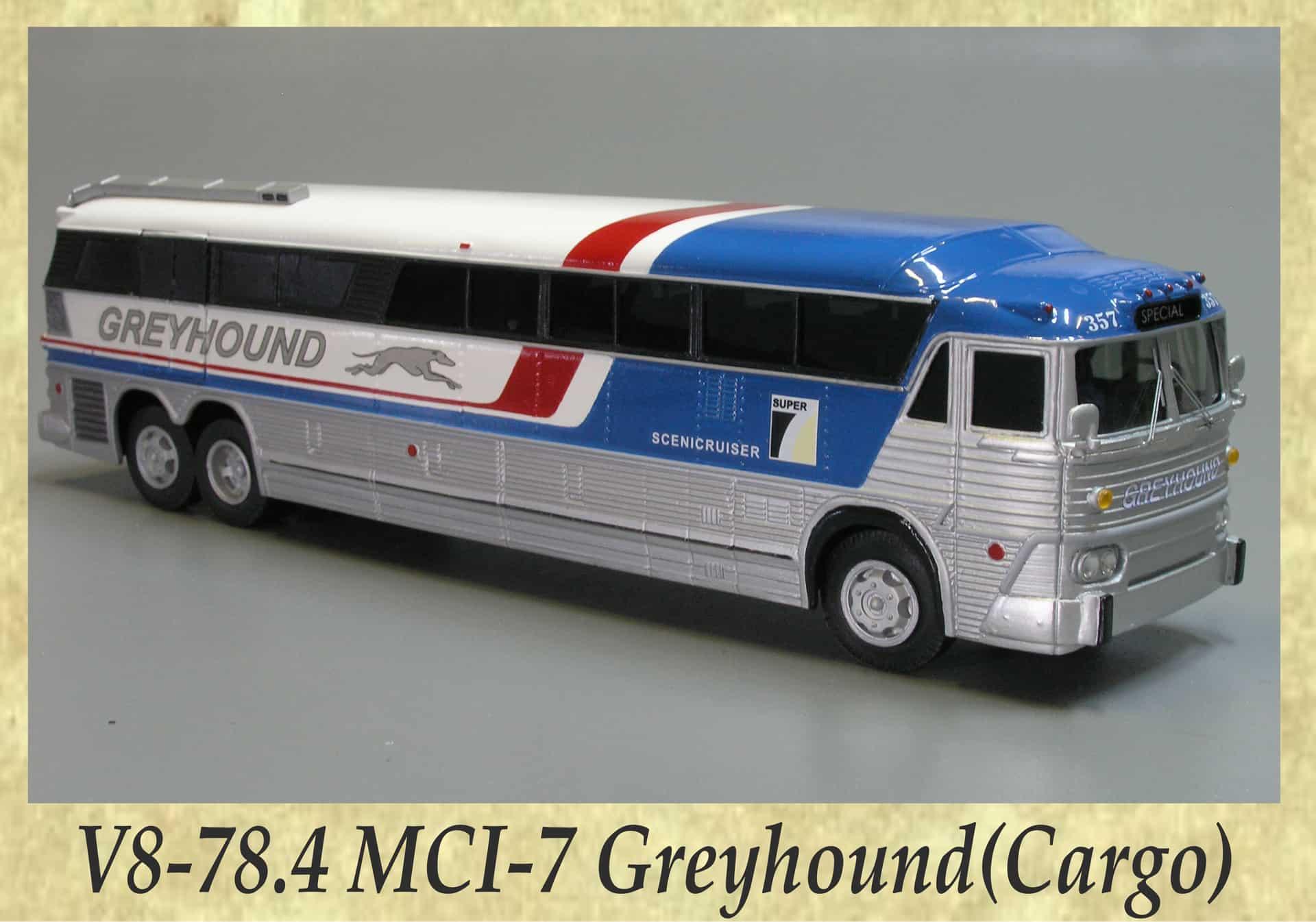 V8-78.4 MCI-7 Greyhound(Cargo)