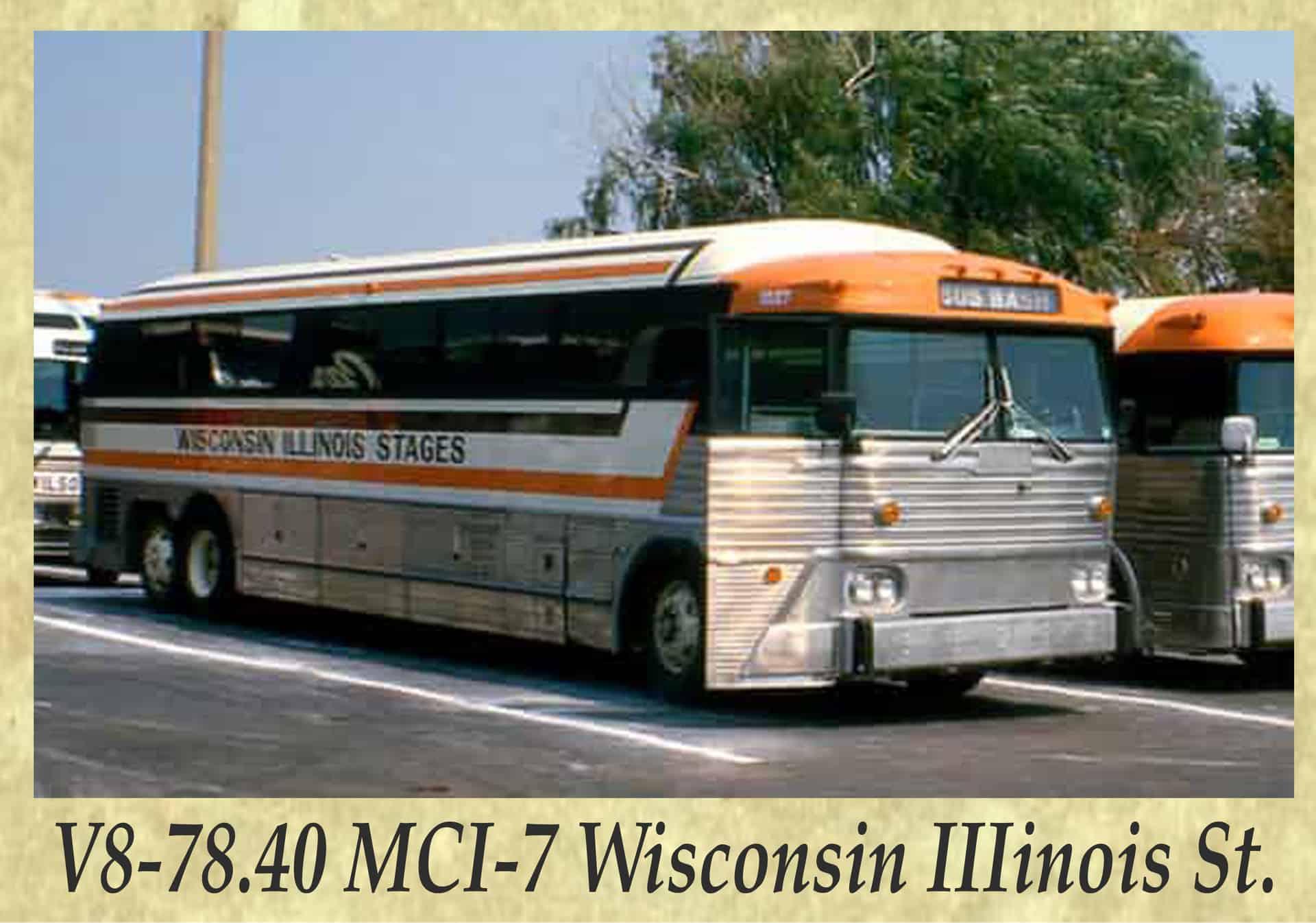 V8-78.40 MCI-7 Wisconsin IIIinois St.