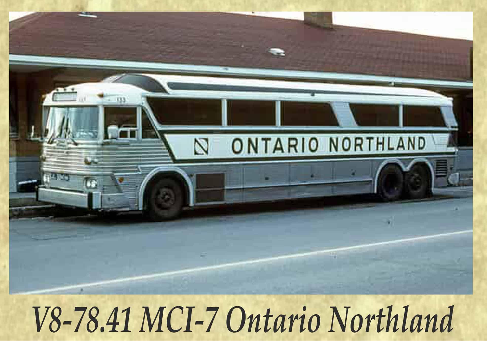 V8-78.41 MCI-7 Ontario Northland
