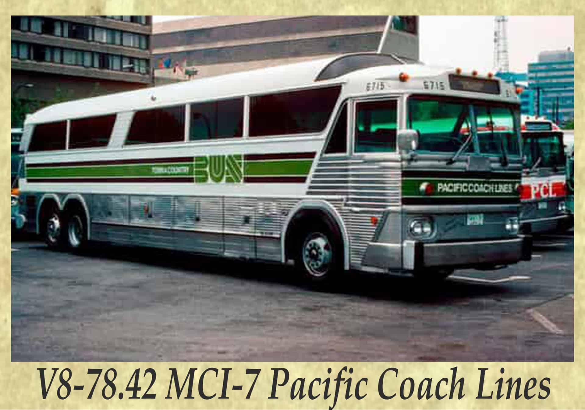 V8-78.42 MCI-7 Pacific Coach Lines