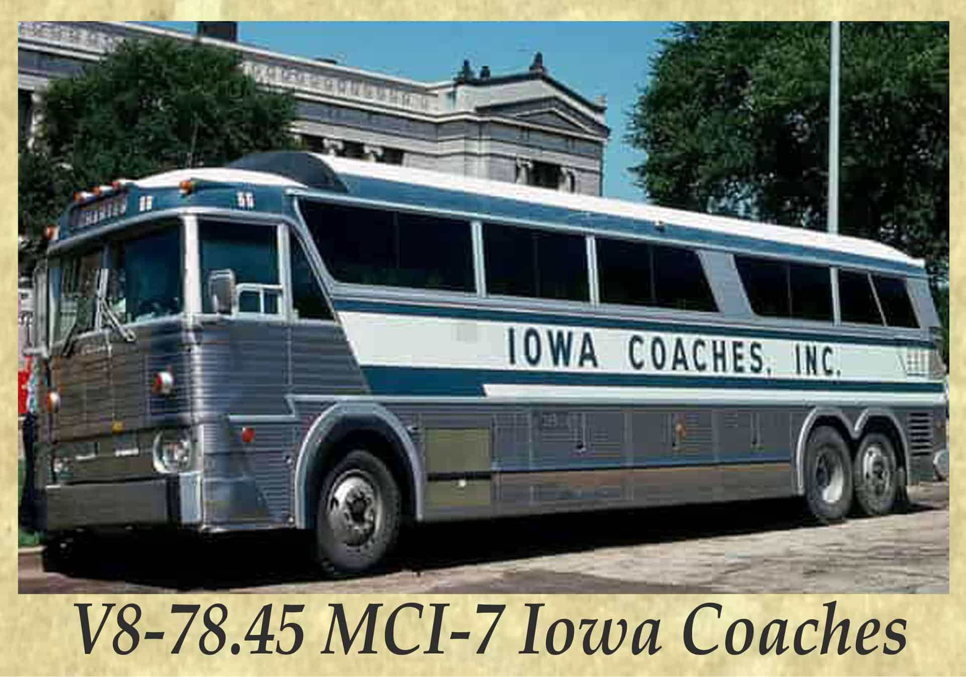 V8-78.45 MCI-7 Iowa Coaches