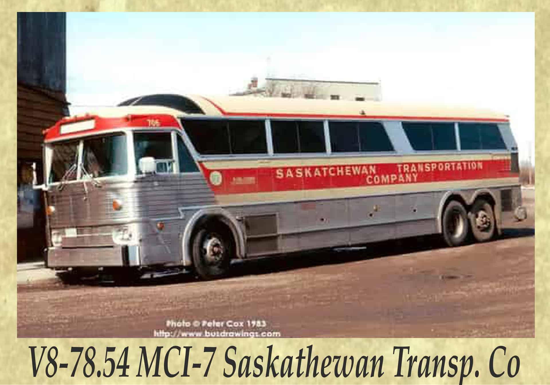 V8-78.54 MCI-7 Saskathewan Transp. Co