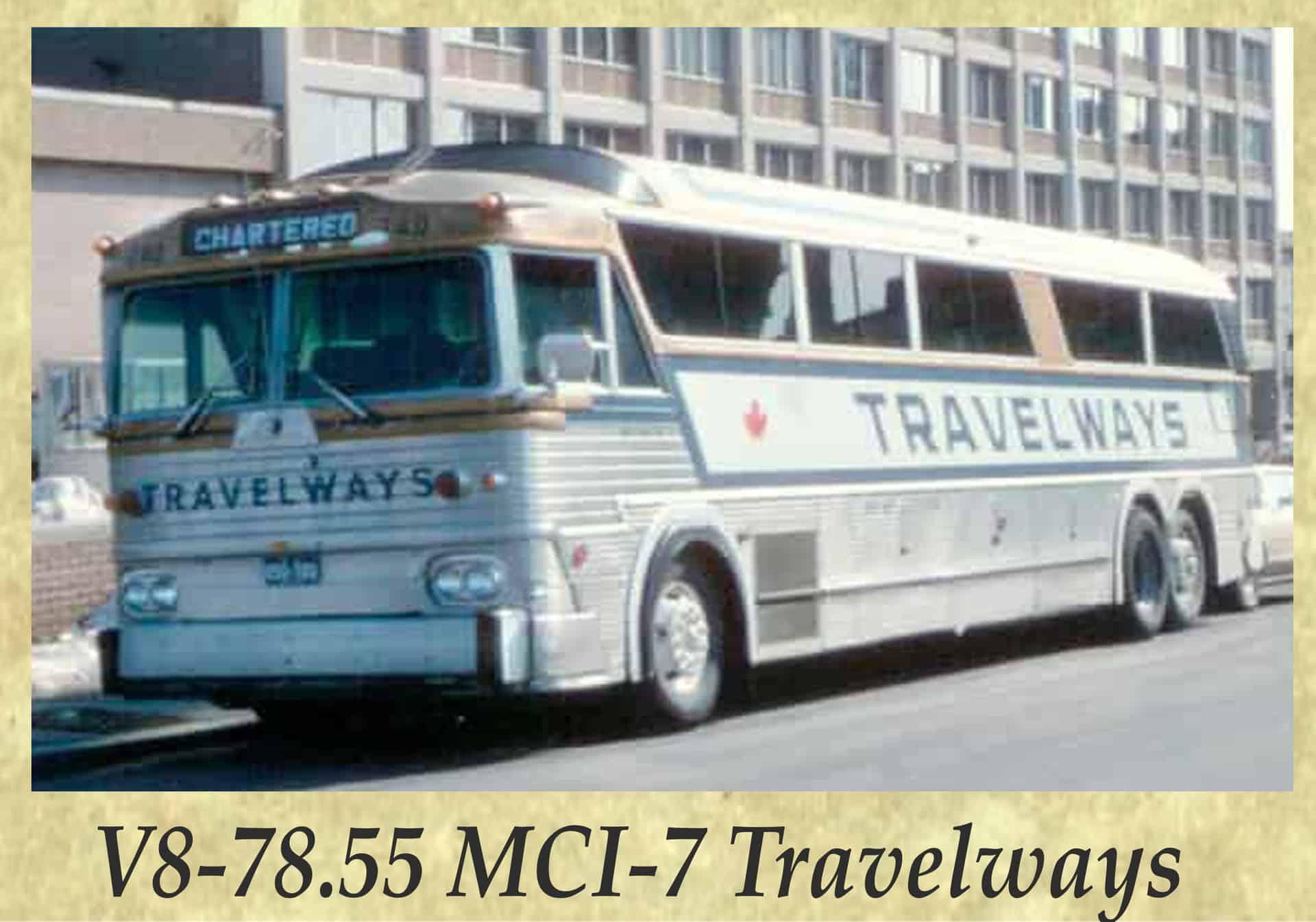 V8-78.55 MCI-7 Travelways