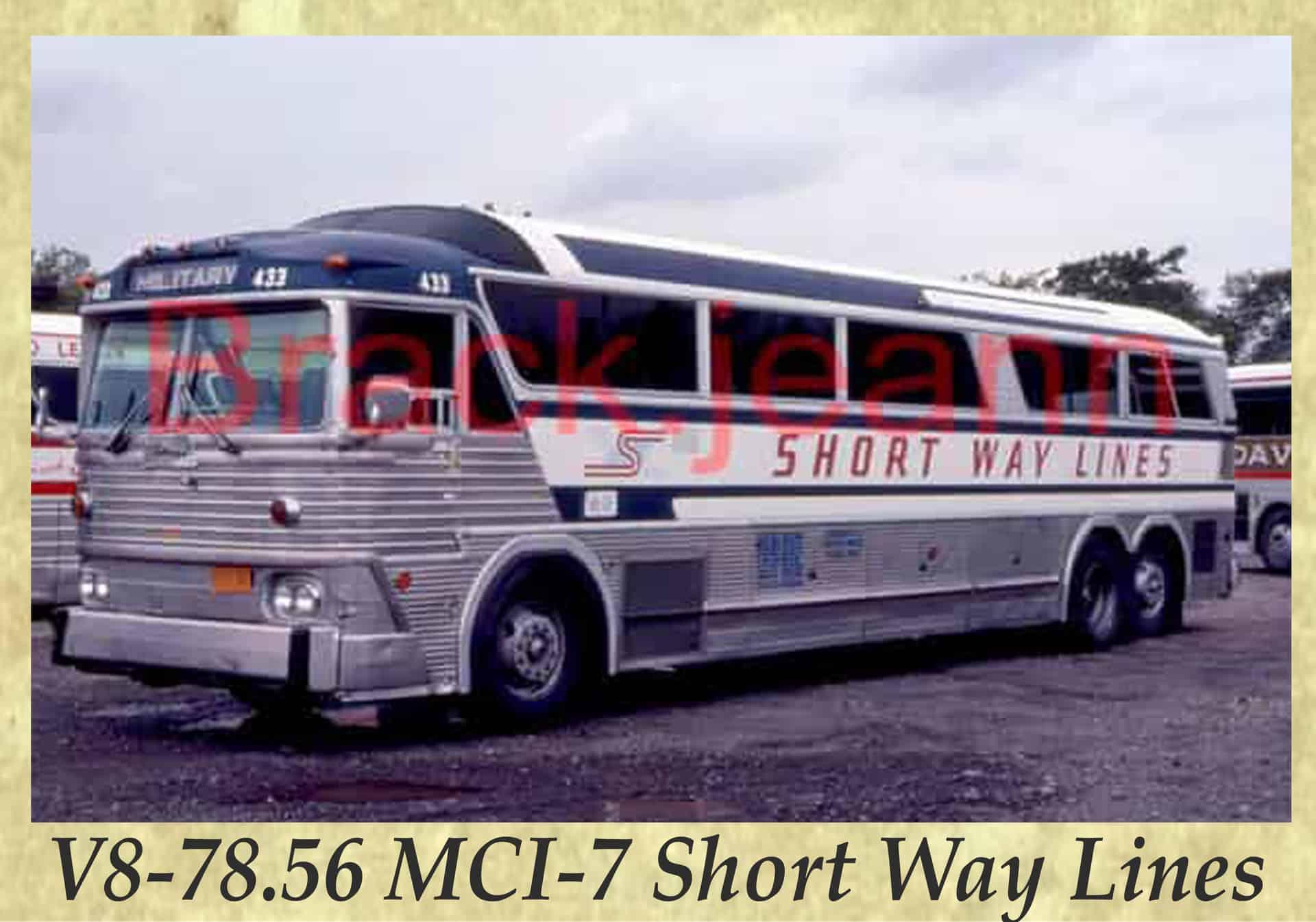 V8-78.56 MCI-7 Short Way Lines