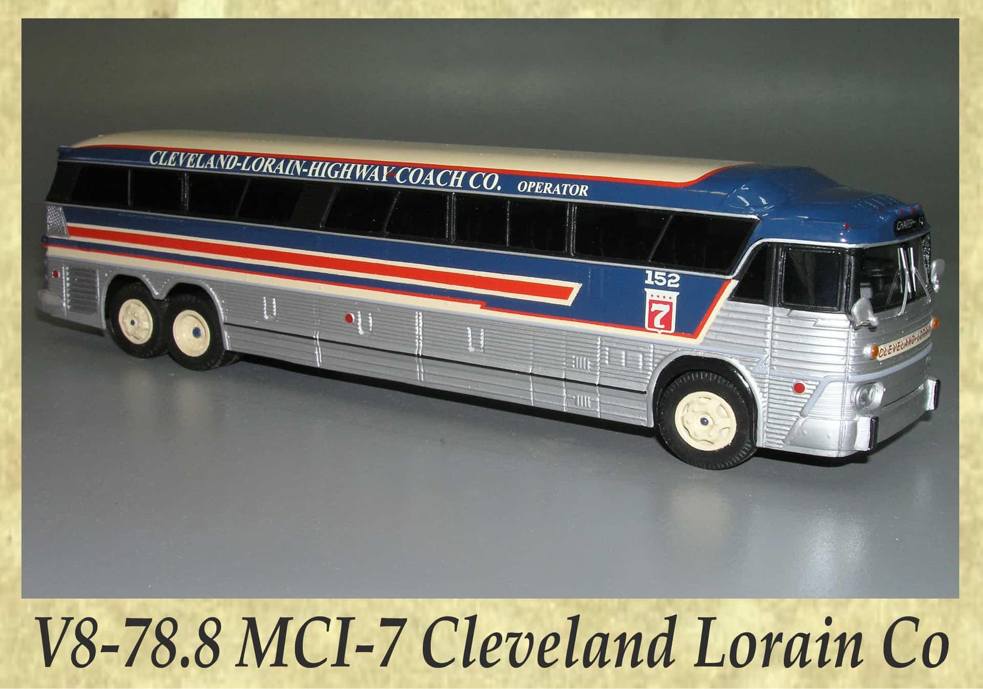 V8-78.8 MCI-7 Cleveland Lorain Co