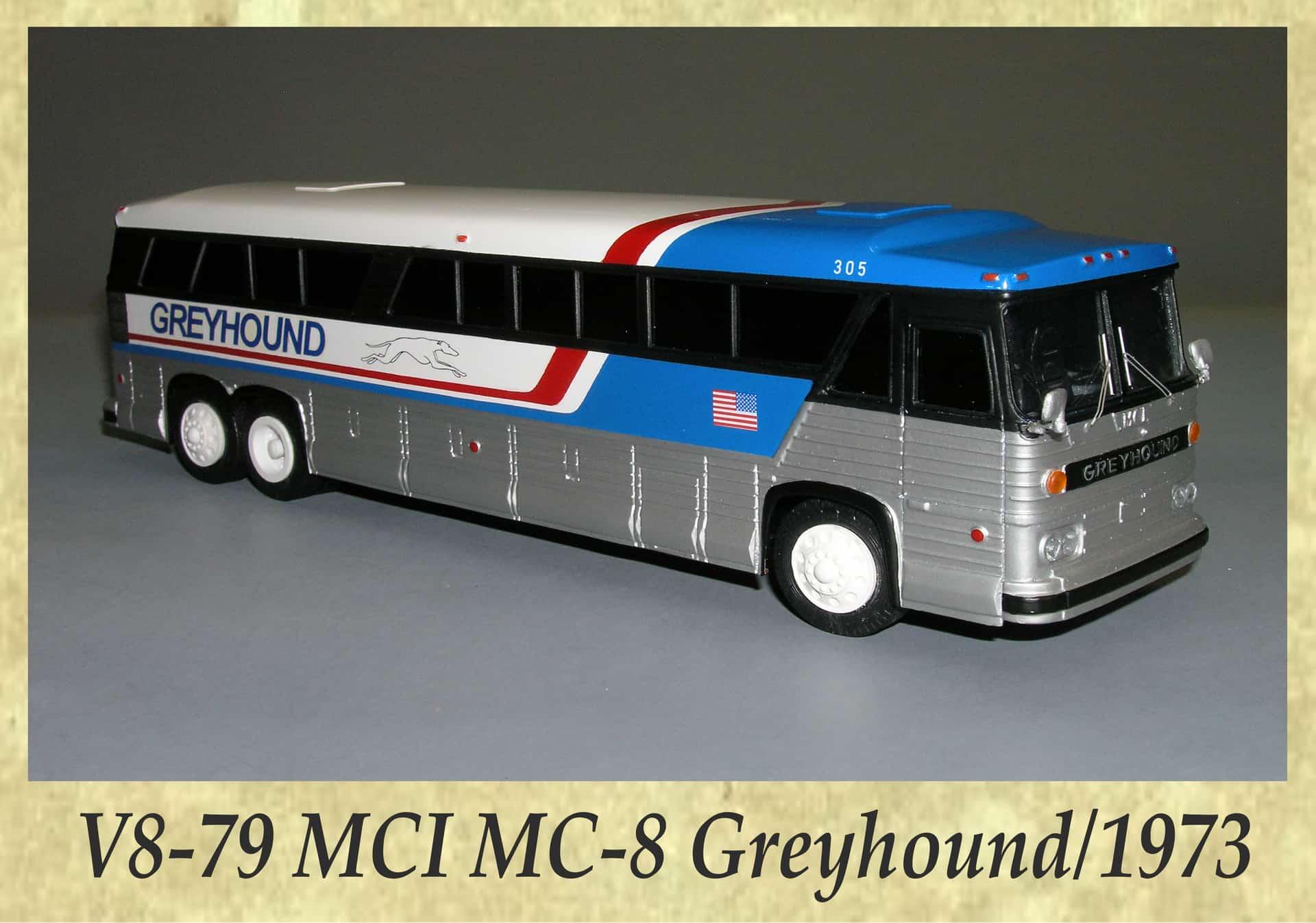 V8-79 MCI MC-8 Greyhound 1973