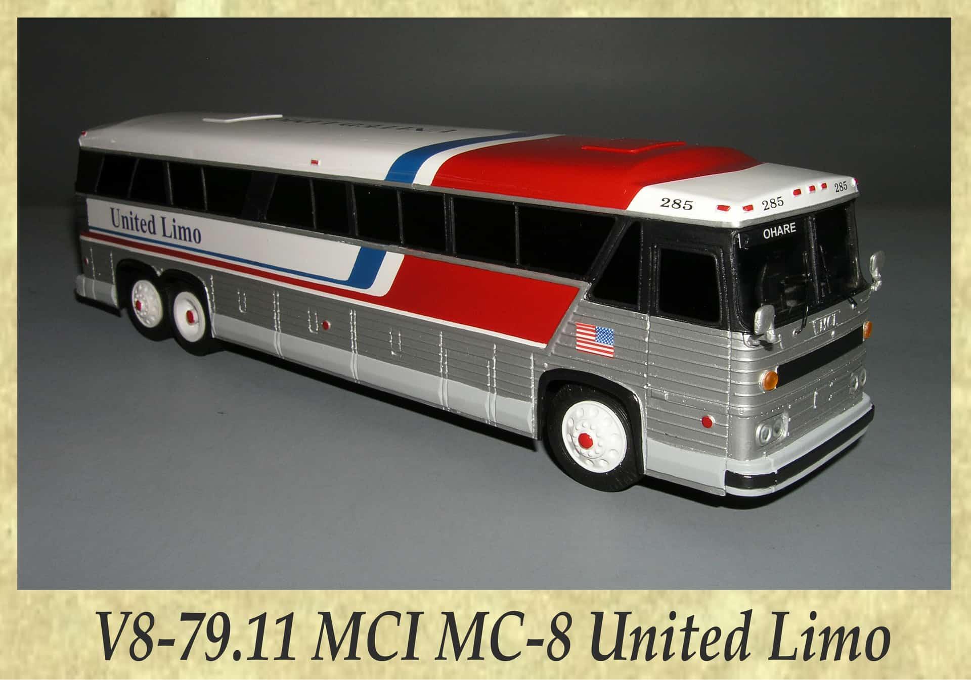 V8-79.11 MCI MC-8 United Limo