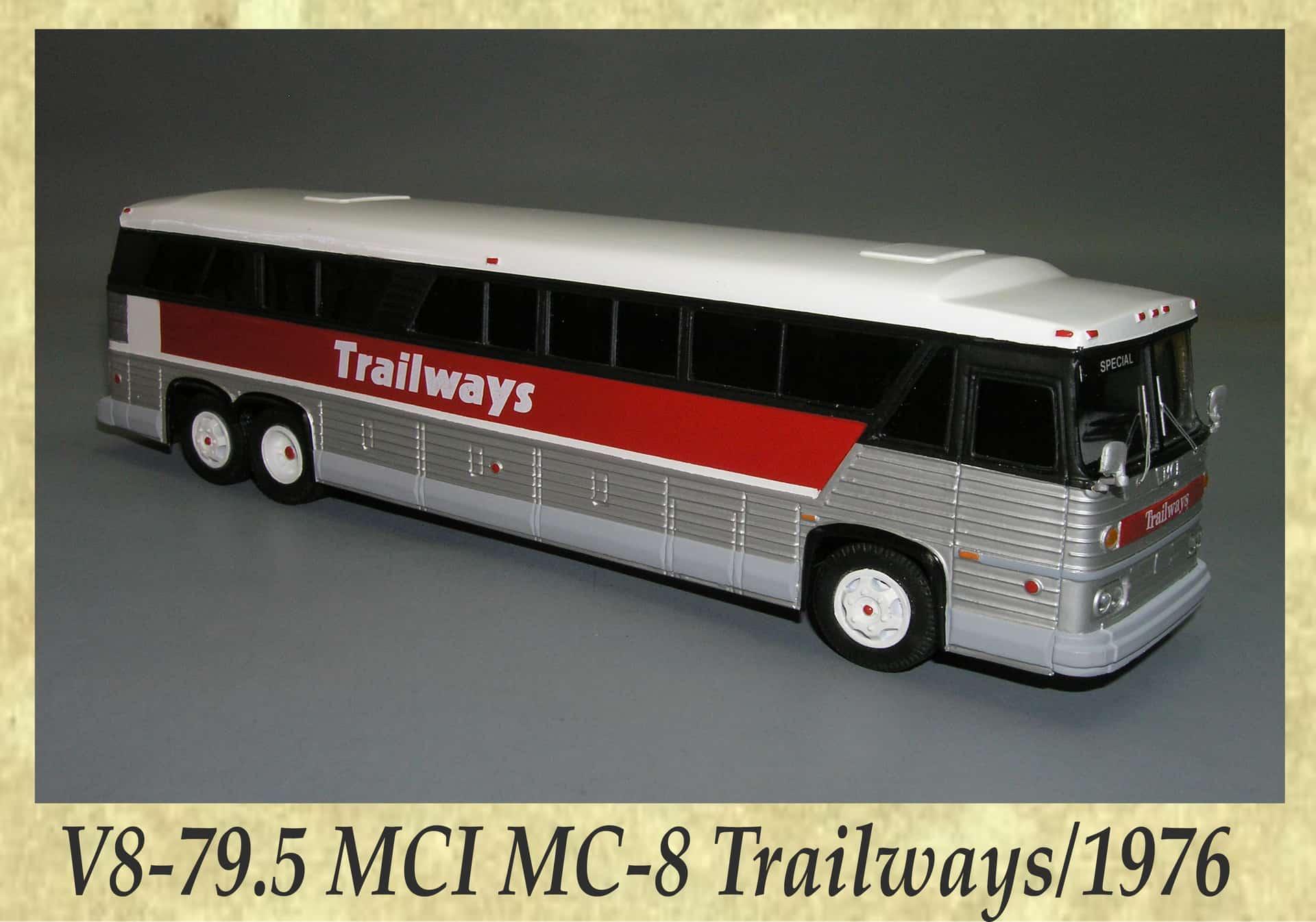 V8-79.5 MCI MC-8 Trailways 1976