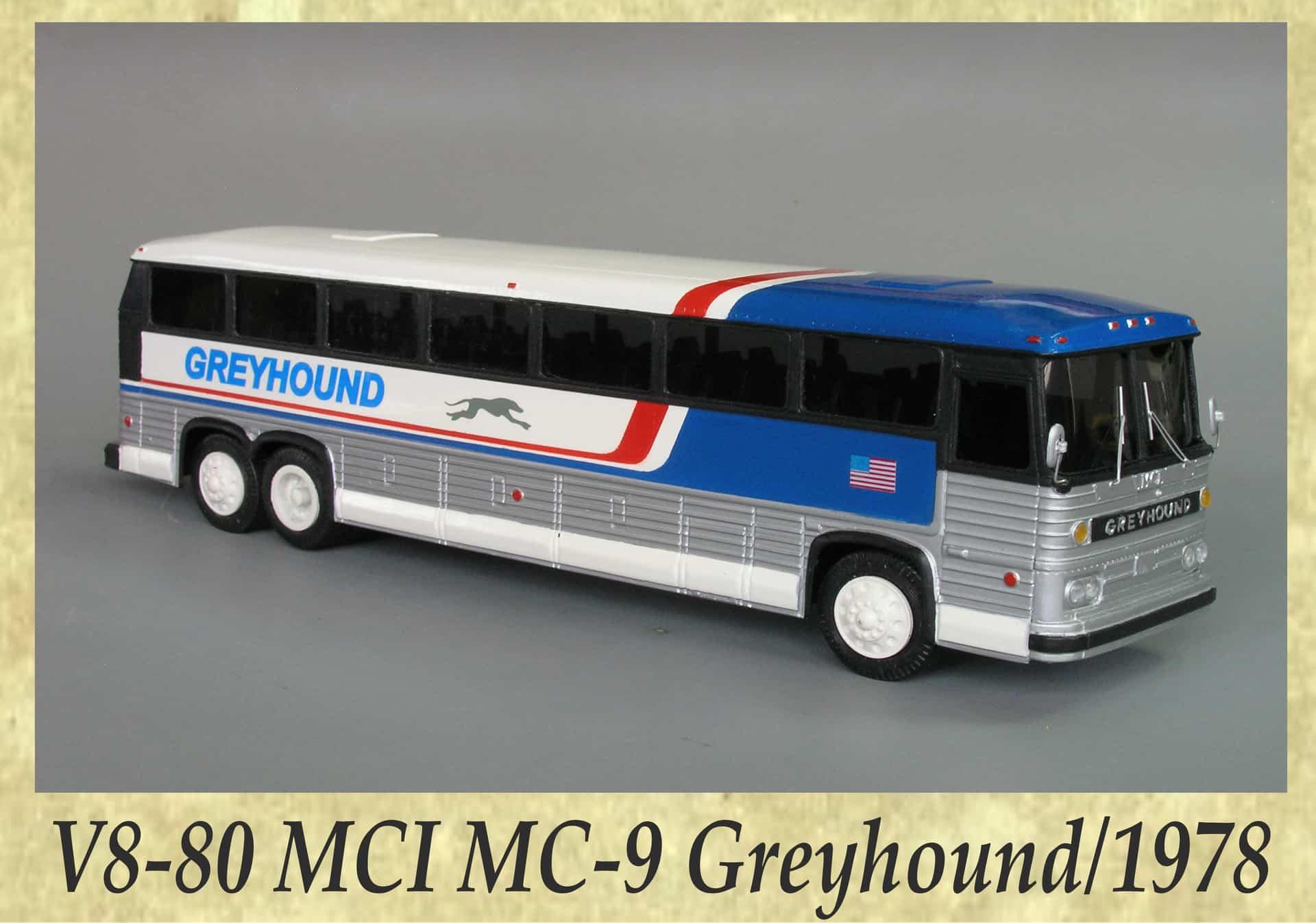 V8-80 MCI MC-9 Greyhound 1978