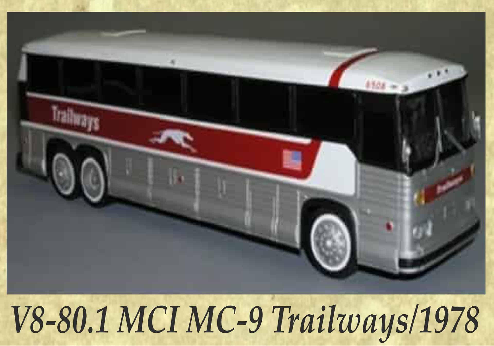 V8-80.1 MCI MC-9 Trailways 1978