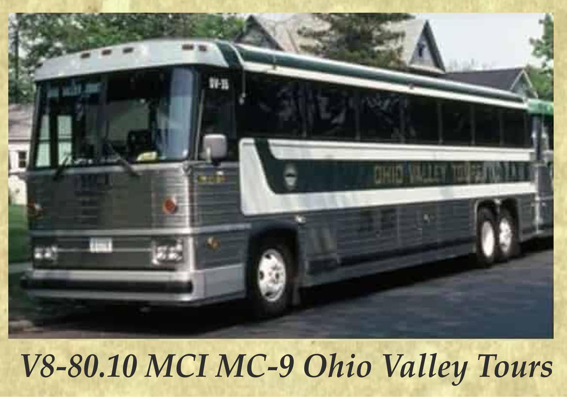 V8-80.10 MCI MC-9 Ohio Valley Tours
