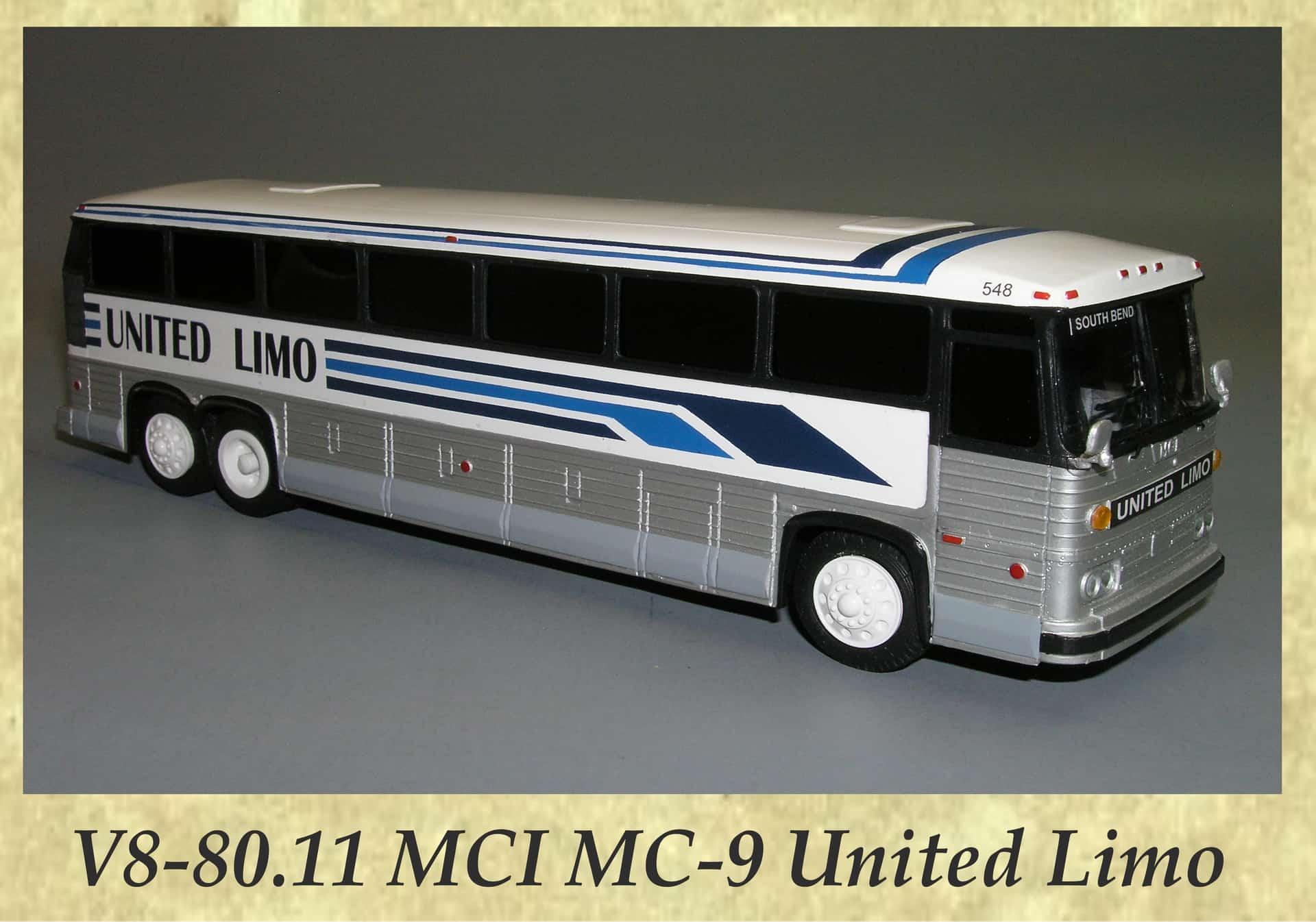 V8-80.11 MCI MC-9 United Limo