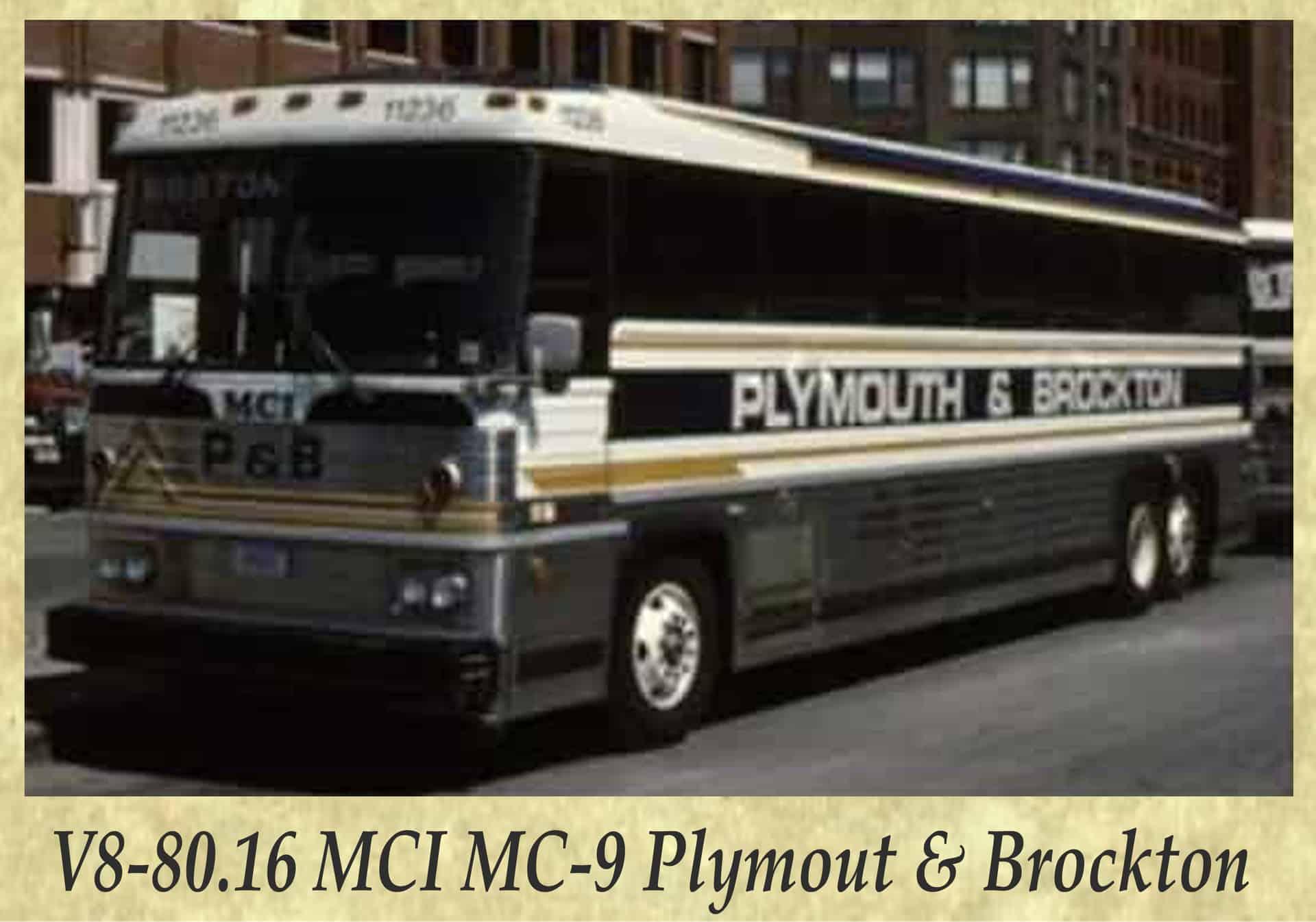 V8-80.16 MCI MC-9 Plymout & Brockton