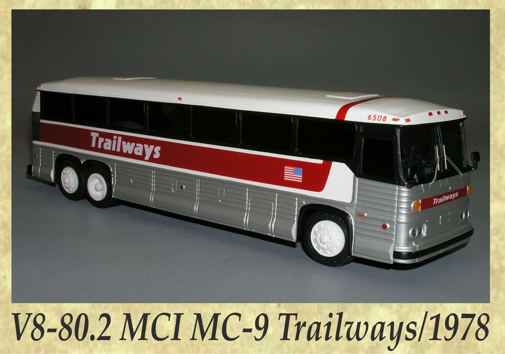 V8-80.2 MCI MC-9 Trailways 1978