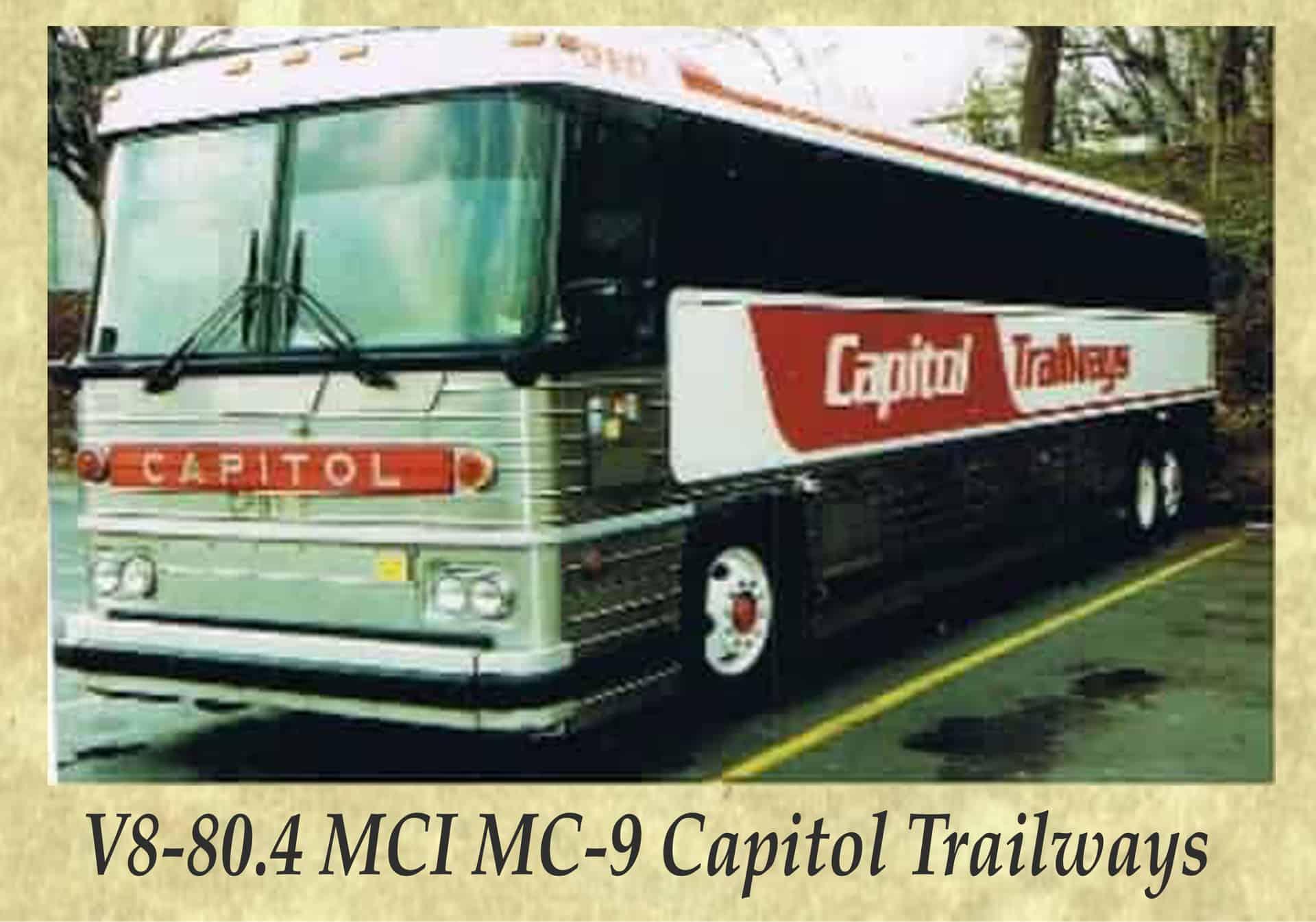 V8-80.4 MCI MC-9 Capitol Trailways