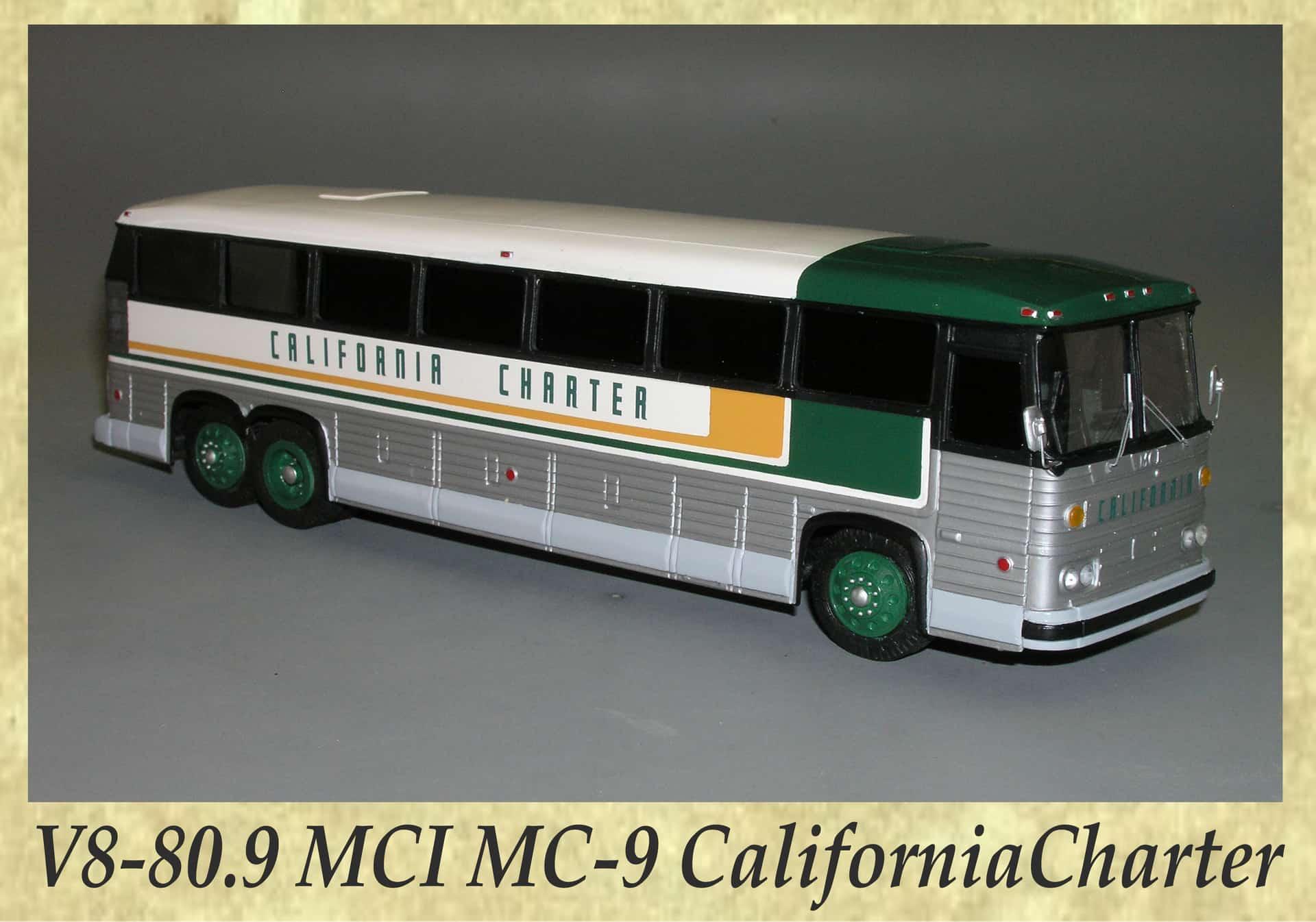 V8-80.9 MCI MC-9 CaliforniaCharter