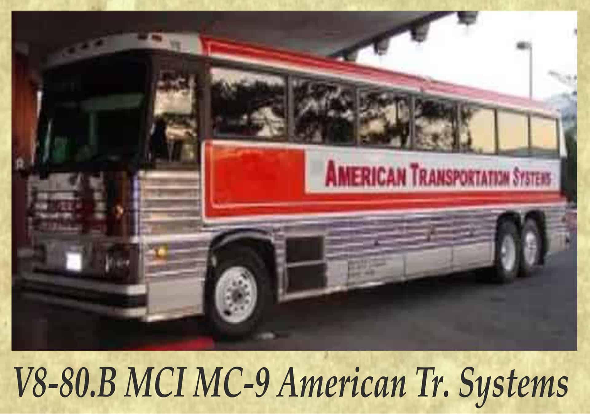 V8-80.B MCI MC-9 American Tr. Systems
