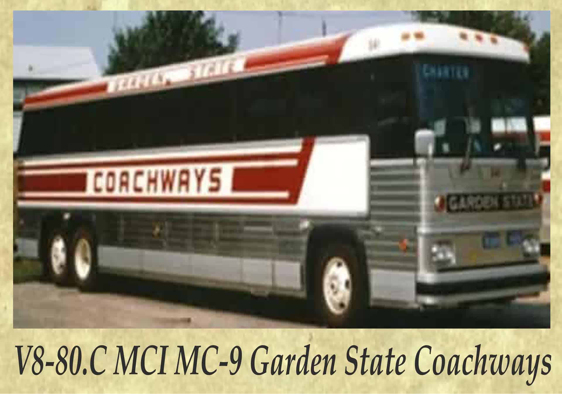 V8-80.C MCI MC-9 Garden State Coachways